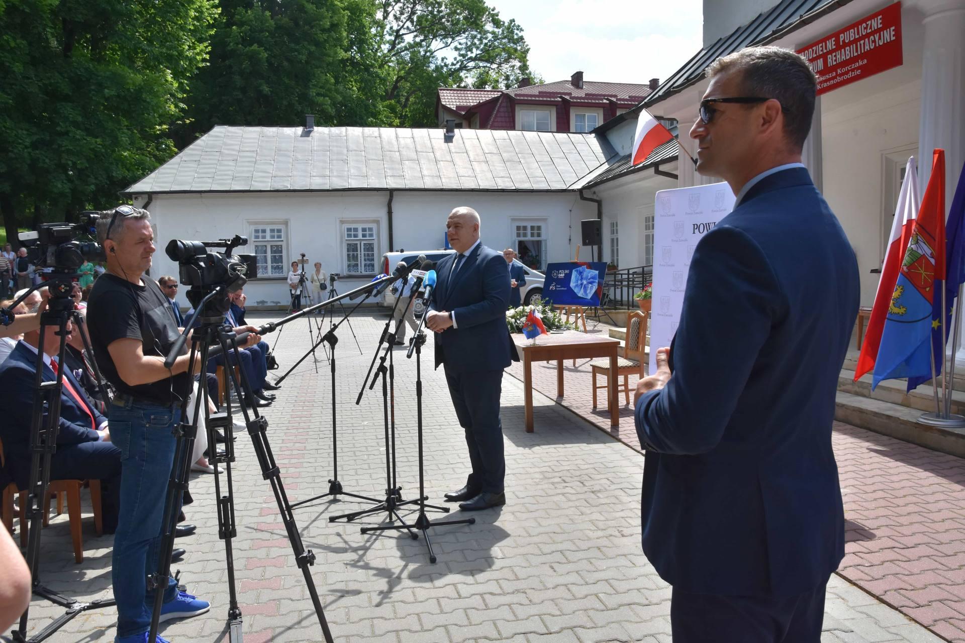 dsc 7530 Za 80 mln zł rozbudowane zostanie sanatorium w Krasnobrodzie.