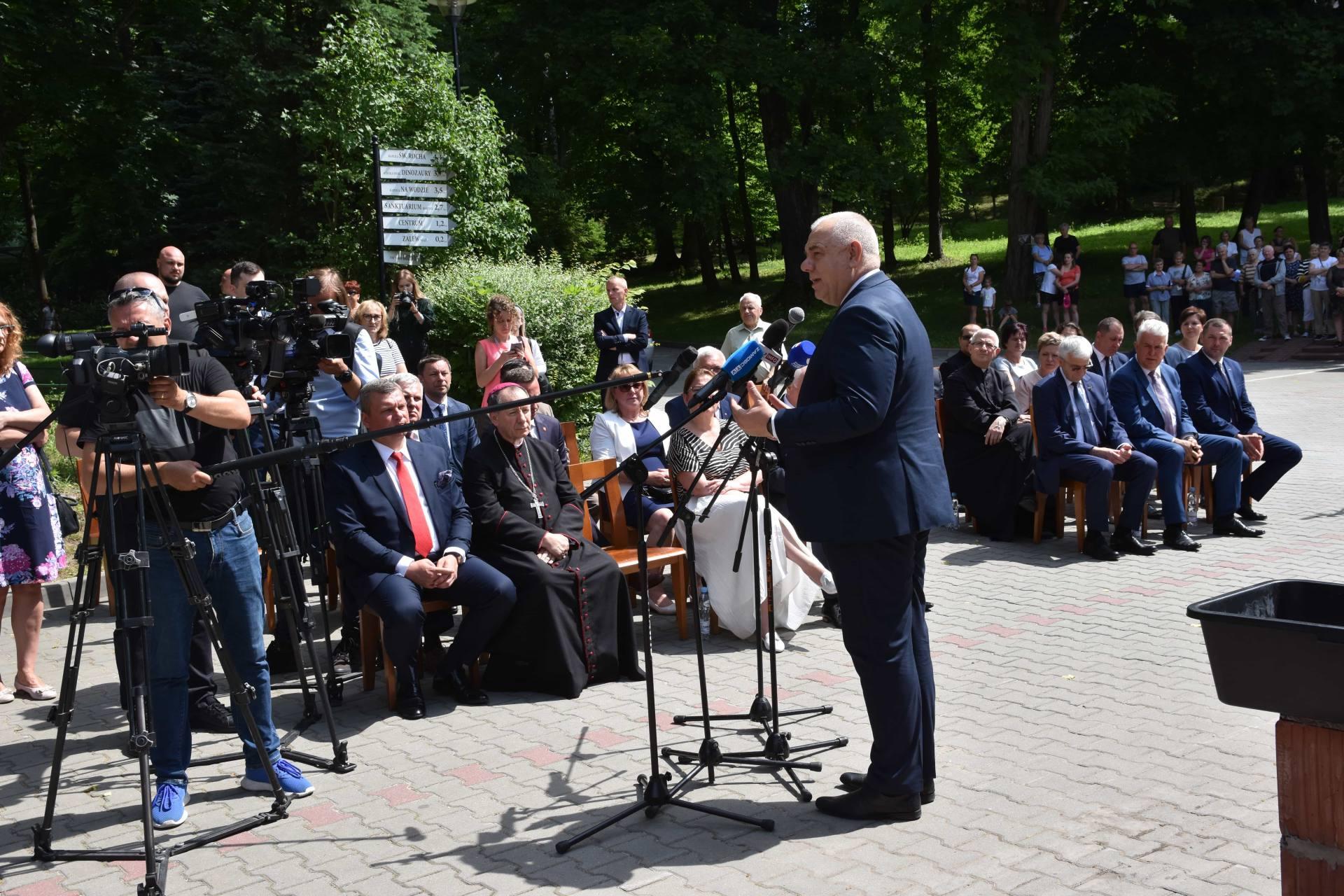 dsc 7535 Za 80 mln zł rozbudowane zostanie sanatorium w Krasnobrodzie.