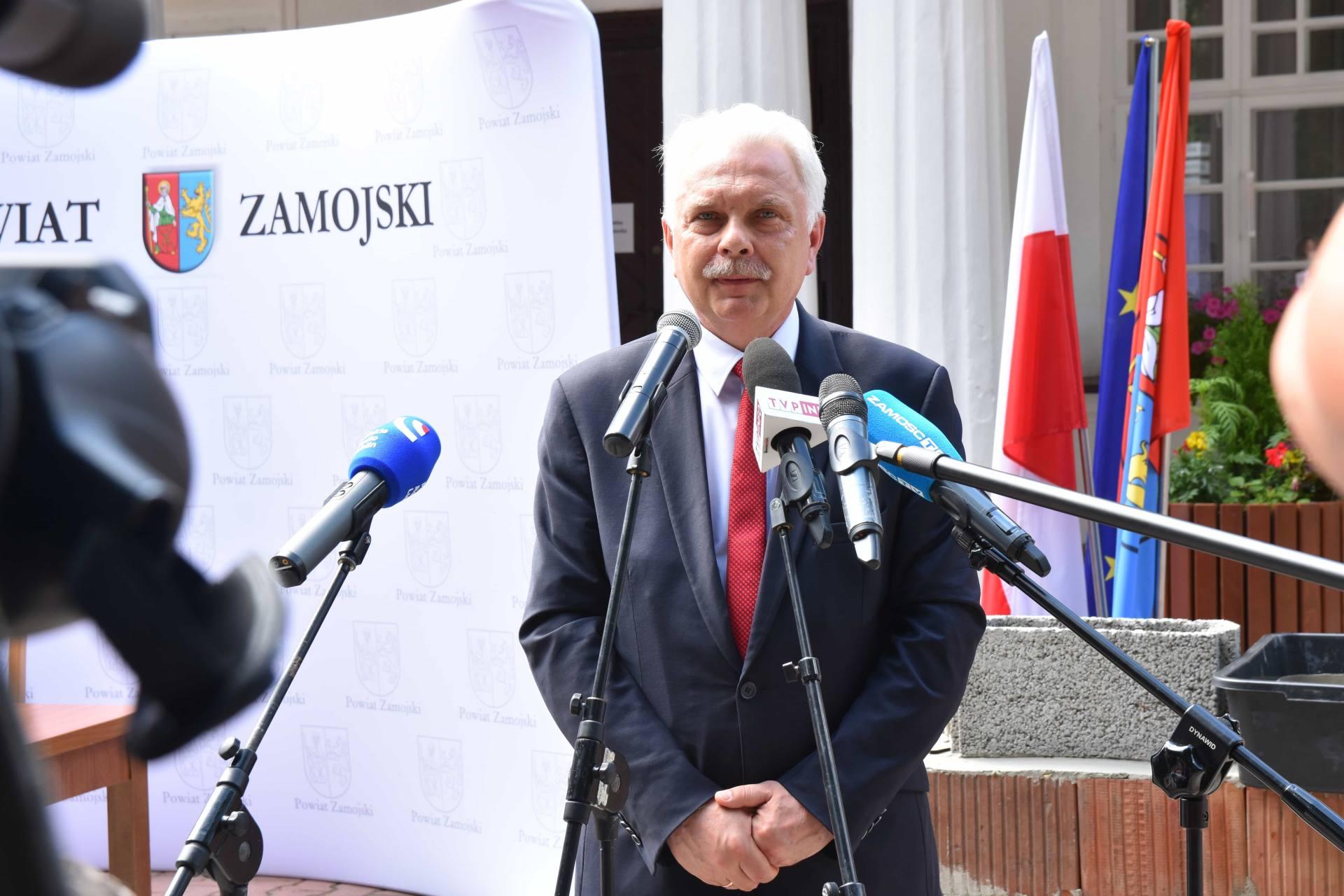 dsc 7541 Za 80 mln zł rozbudowane zostanie sanatorium w Krasnobrodzie.