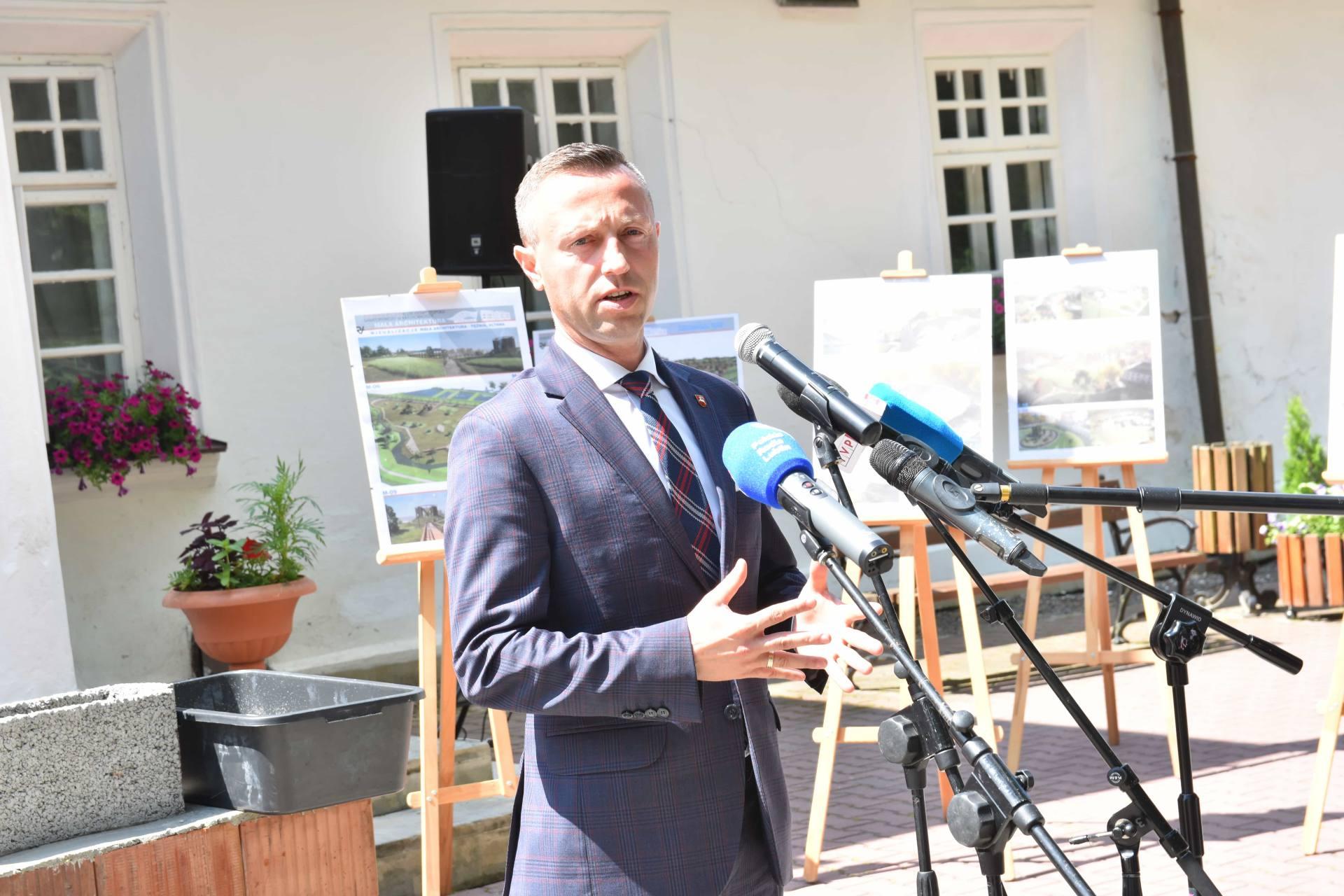 dsc 7551 Za 80 mln zł rozbudowane zostanie sanatorium w Krasnobrodzie.