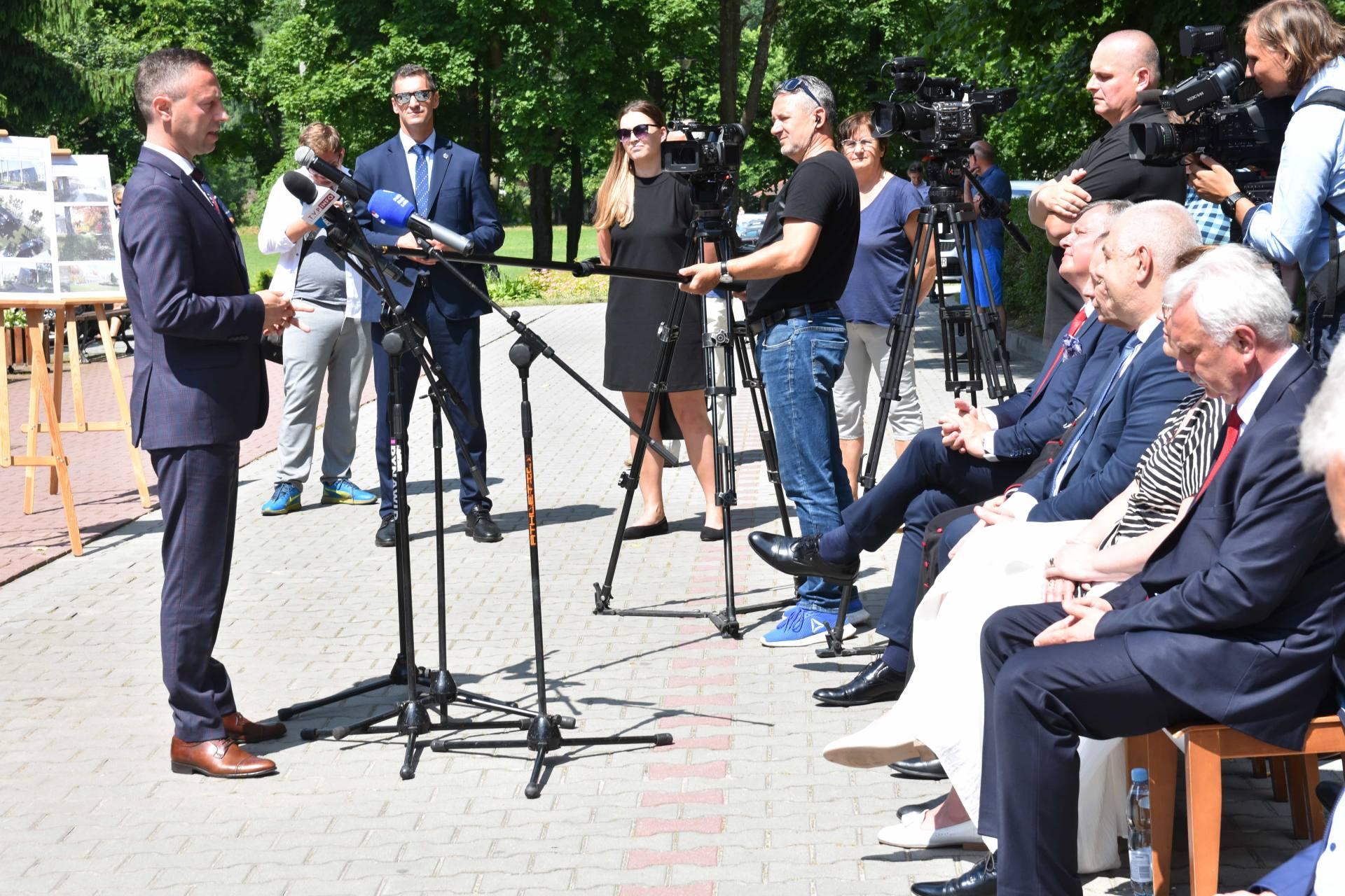 dsc 7561 Za 80 mln zł rozbudowane zostanie sanatorium w Krasnobrodzie.