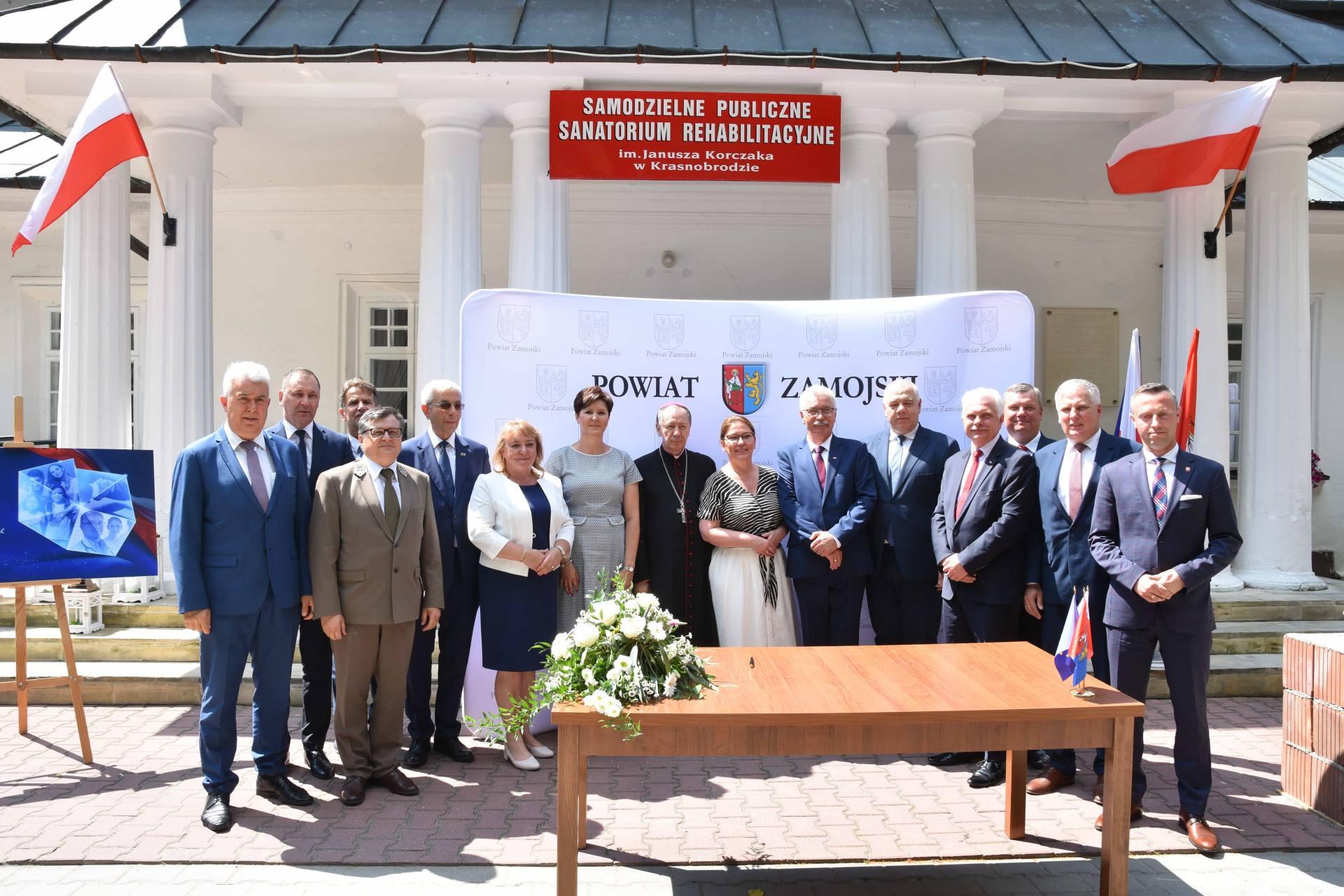 dsc 7564 Za 80 mln zł rozbudowane zostanie sanatorium w Krasnobrodzie.