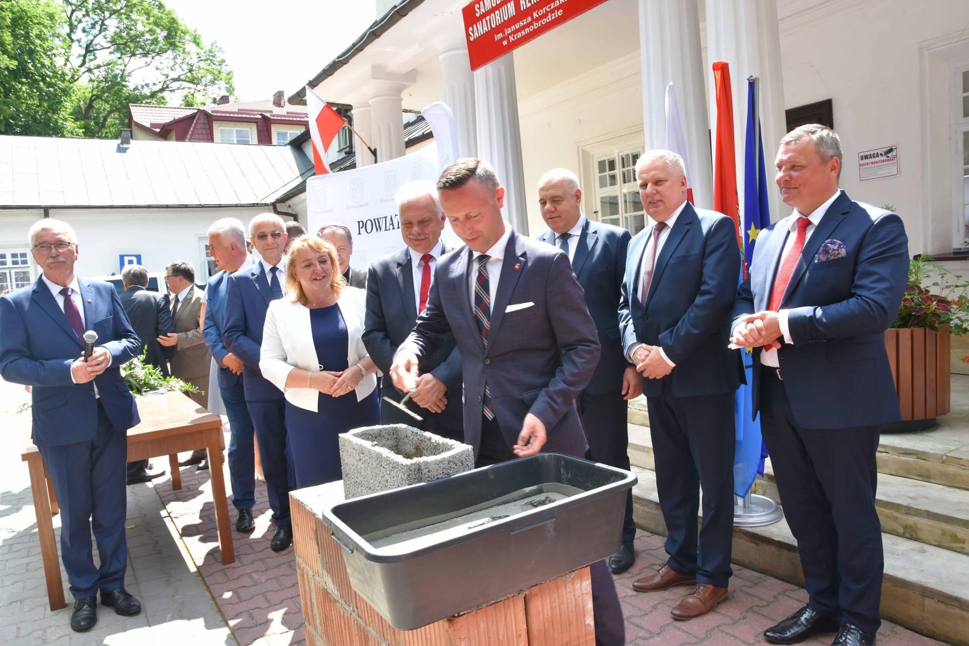 dsc 7594 Za 80 mln zł rozbudowane zostanie sanatorium w Krasnobrodzie.