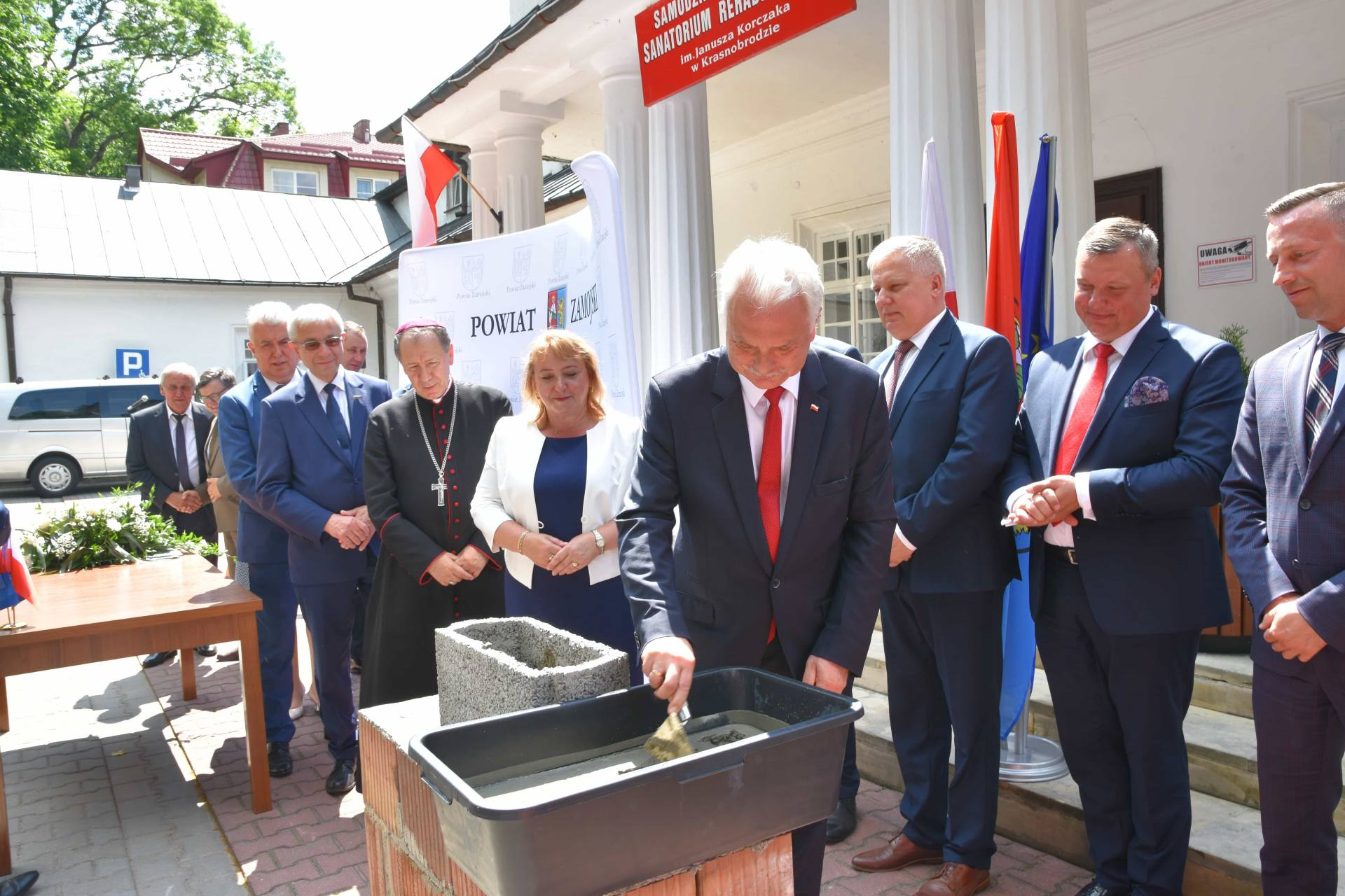 dsc 7595 Za 80 mln zł rozbudowane zostanie sanatorium w Krasnobrodzie.