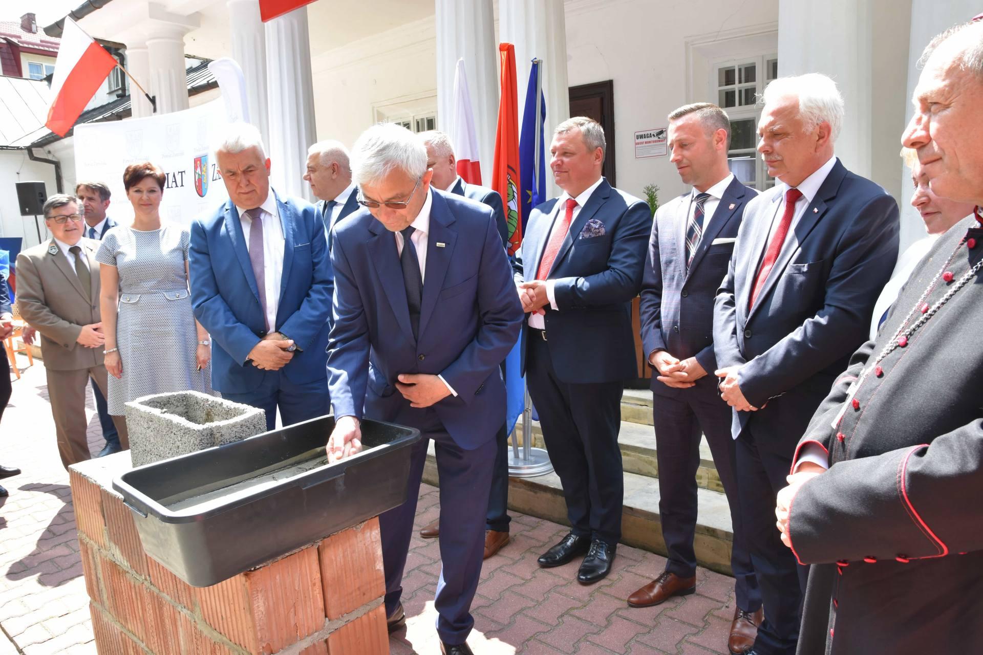 dsc 7604 Za 80 mln zł rozbudowane zostanie sanatorium w Krasnobrodzie.