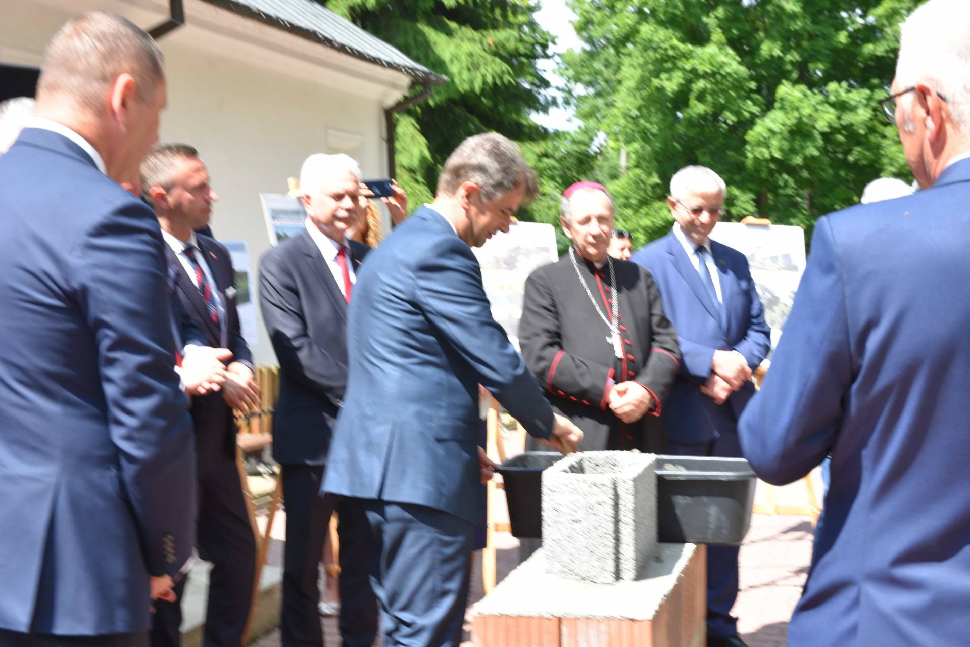 dsc 7609 Za 80 mln zł rozbudowane zostanie sanatorium w Krasnobrodzie.