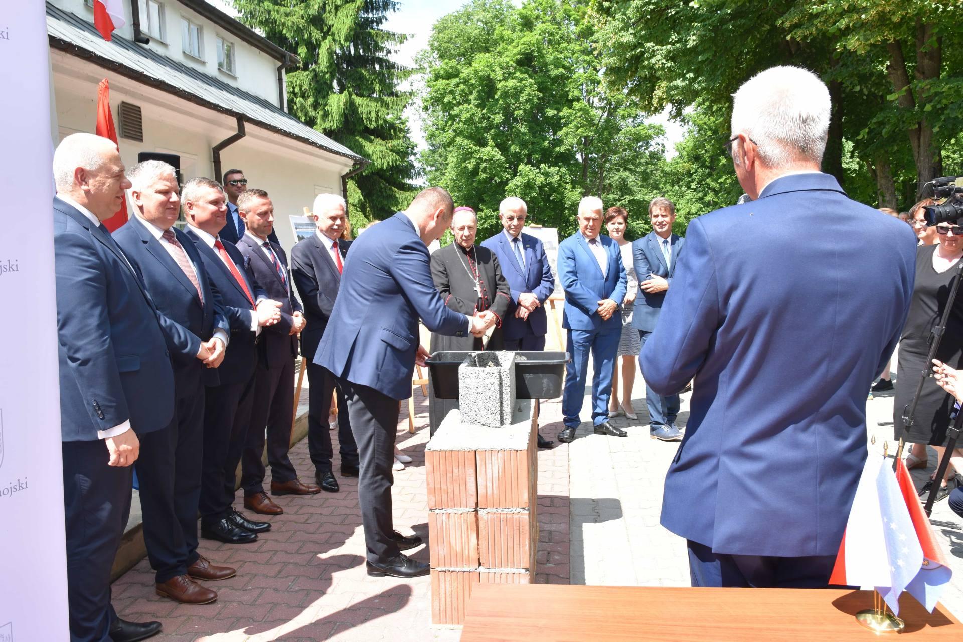 dsc 7611 Za 80 mln zł rozbudowane zostanie sanatorium w Krasnobrodzie.
