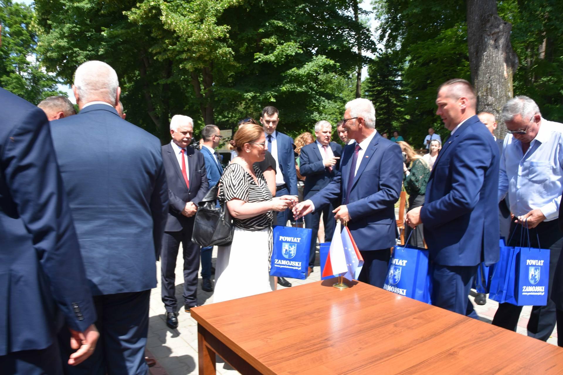 dsc 7614 Za 80 mln zł rozbudowane zostanie sanatorium w Krasnobrodzie.