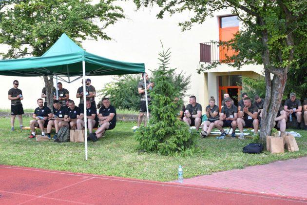 dsc 7759 Mundurowi pobiegli dla PSONI Koło w Zamościu