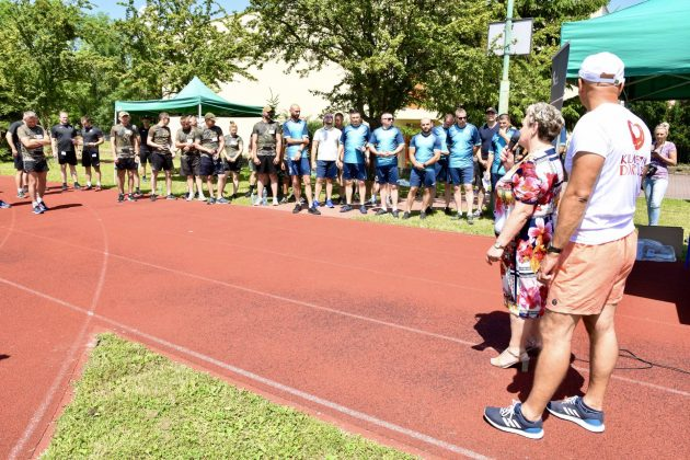 dsc 7796 Mundurowi pobiegli dla PSONI Koło w Zamościu