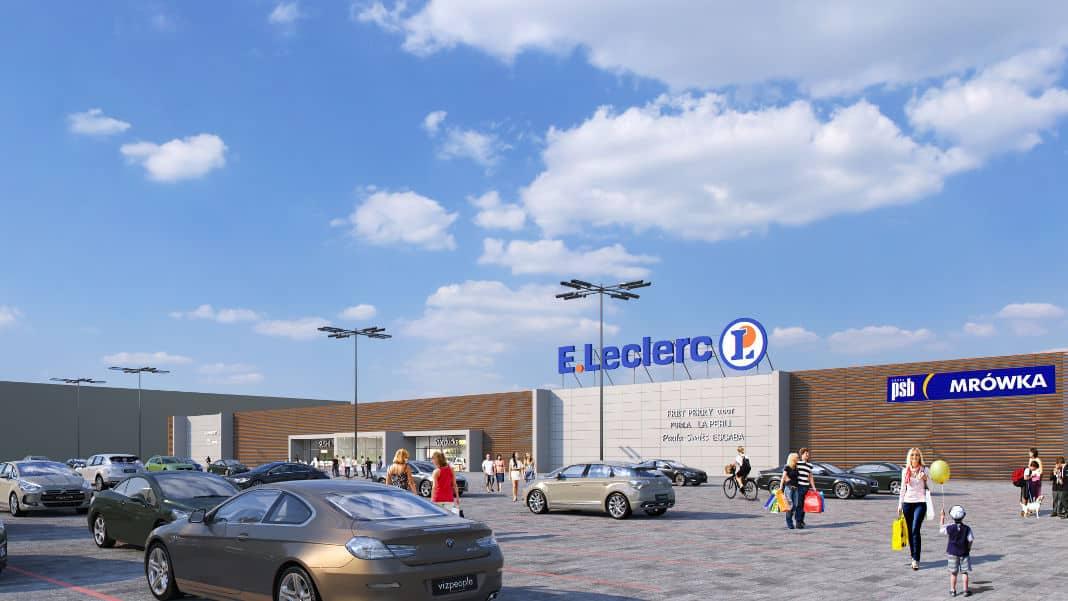 e leclerc zamosc E.Leclerc rozbuduje centrum handlowe w Zamościu