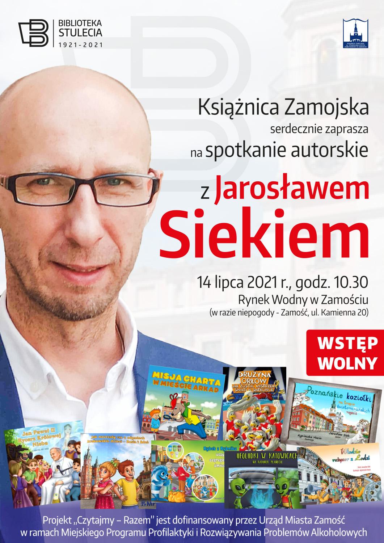 """jsiekwakacjekz2021 """"Czytajmy – RAZEM"""" 2021 – projekt Książnicy Zamojskiej"""