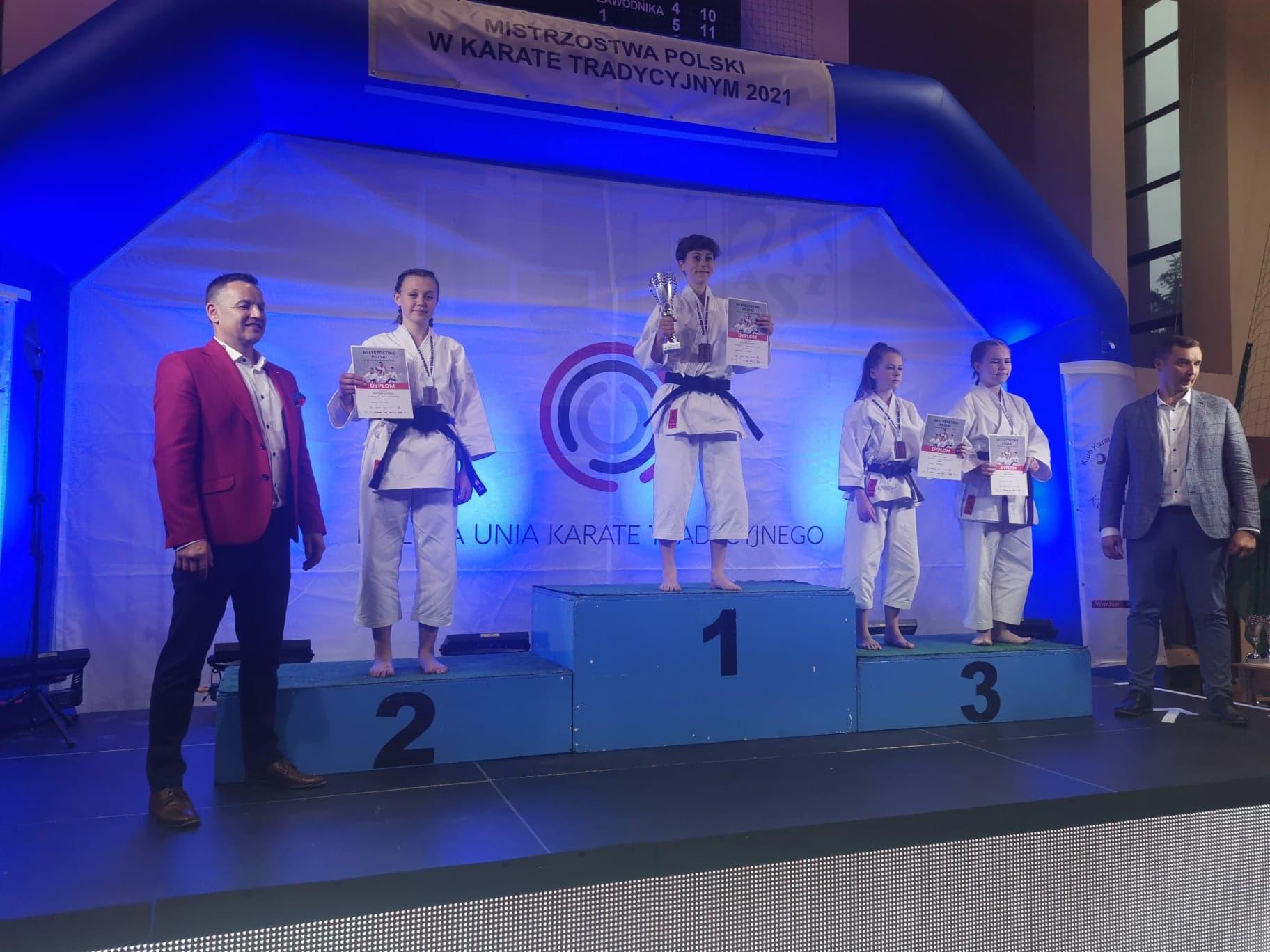 mp wroclaw m 2 wiktoria kaszuba Karatecy Zamojskiego Klubu Karate Tradycyjnego w Zamościu na podium Mistrzostw Polski! [ZDJĘCIA]