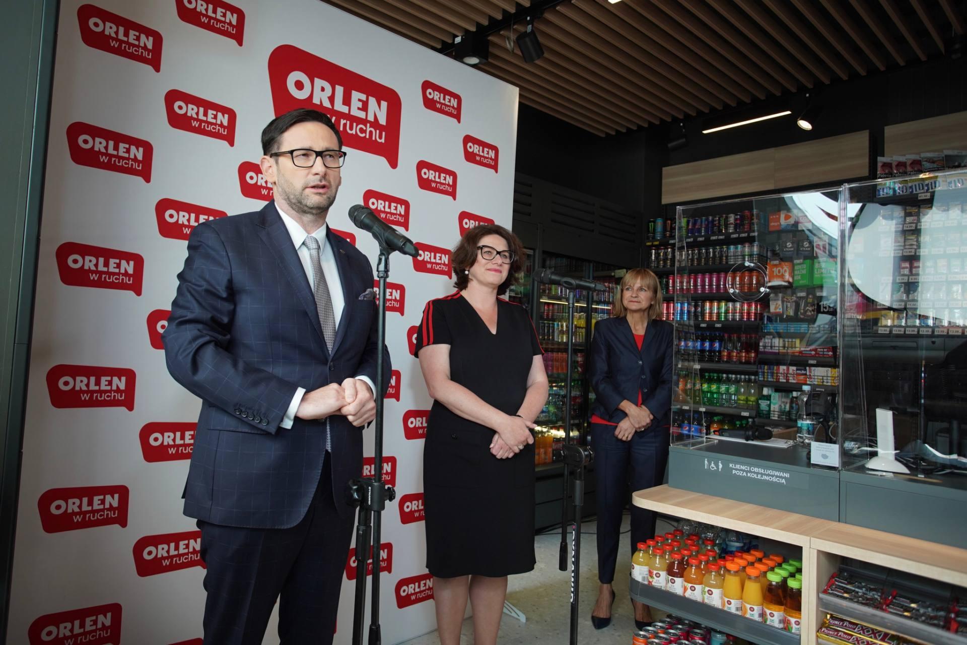 orlen w ruchu 3 Orlen otworzył pierwszy z 900 sklepów