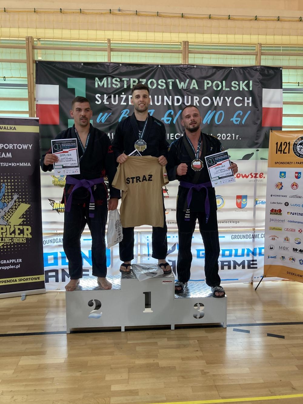 swatko2 Strażak z Zamościa podwójnym mistrzem Polski!