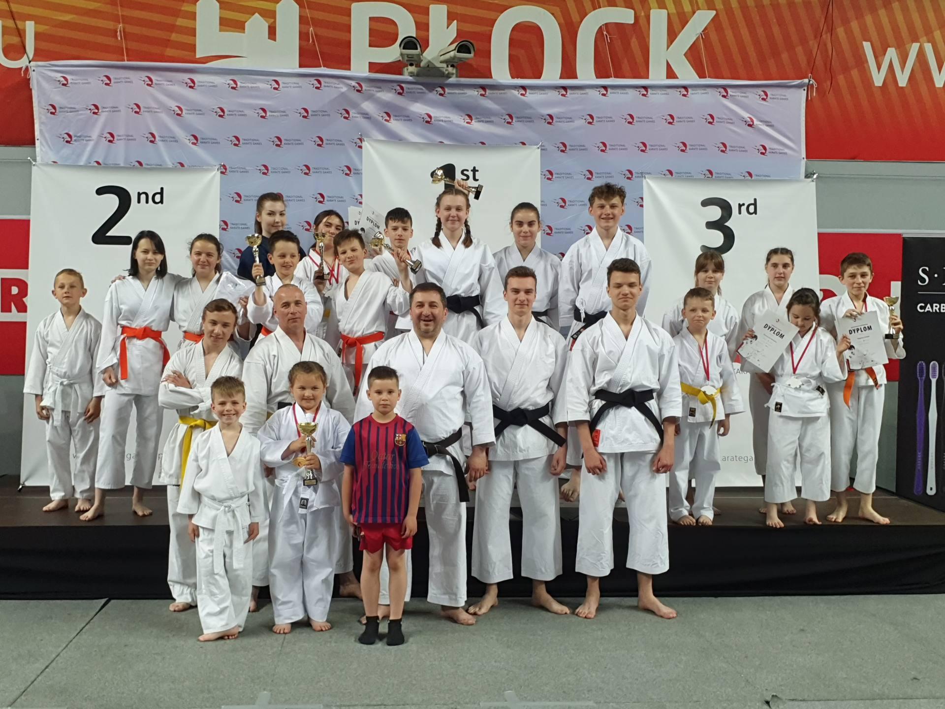 tkg plock ekipa zkkt fot m tulecka Karatecy Zamojskiego Klubu Karate Tradycyjnego w Zamościu na podium Mistrzostw Polski! [ZDJĘCIA]