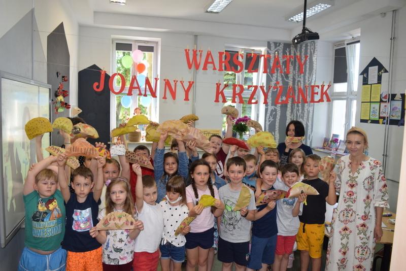 warsztaty joanna krzyzanek 97 001 Spotkanie z Joanną Krzyżanek w Siódemce