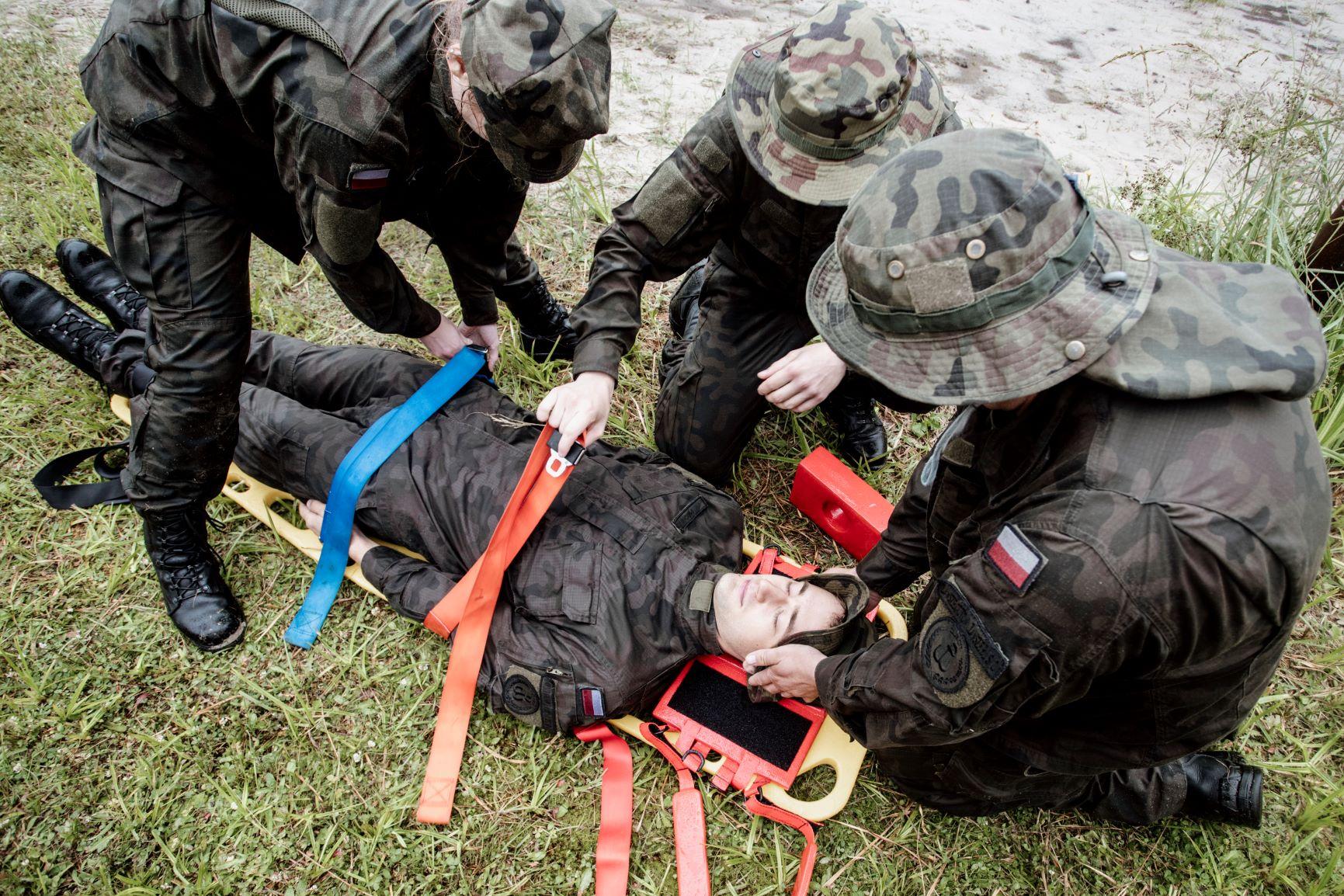 2 lbot cwiczenia z wopr jacnia 03072021 2 Akcja ratownicza na zalewie w Jacni z udziałem zamojskich Terytorialsów i WOPRU
