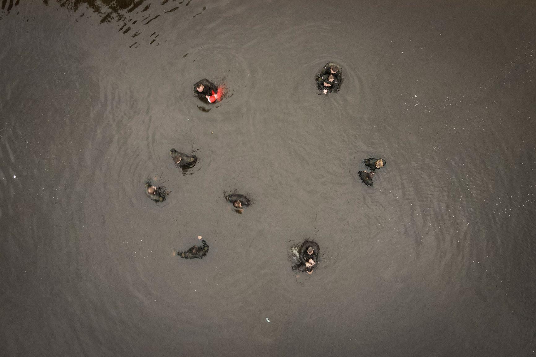 2 lbot cwiczenia z wopr jacnia 03072021 4 Akcja ratownicza na zalewie w Jacni z udziałem zamojskich Terytorialsów i WOPRU