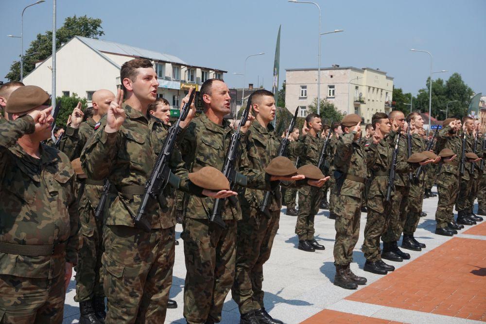 2 lbot przysiega zamosc 11072021 1 Nowi Terytorialsi zaprzysiężeni w Zamościu