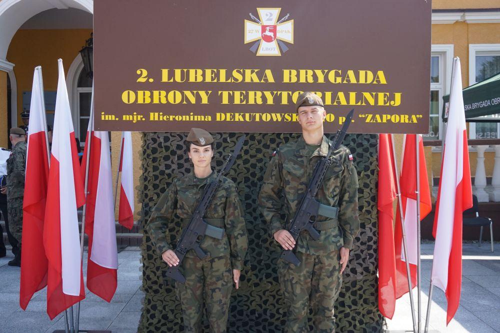 2 lbot przysiega zamosc 11072021 7 Nowi Terytorialsi zaprzysiężeni w Zamościu