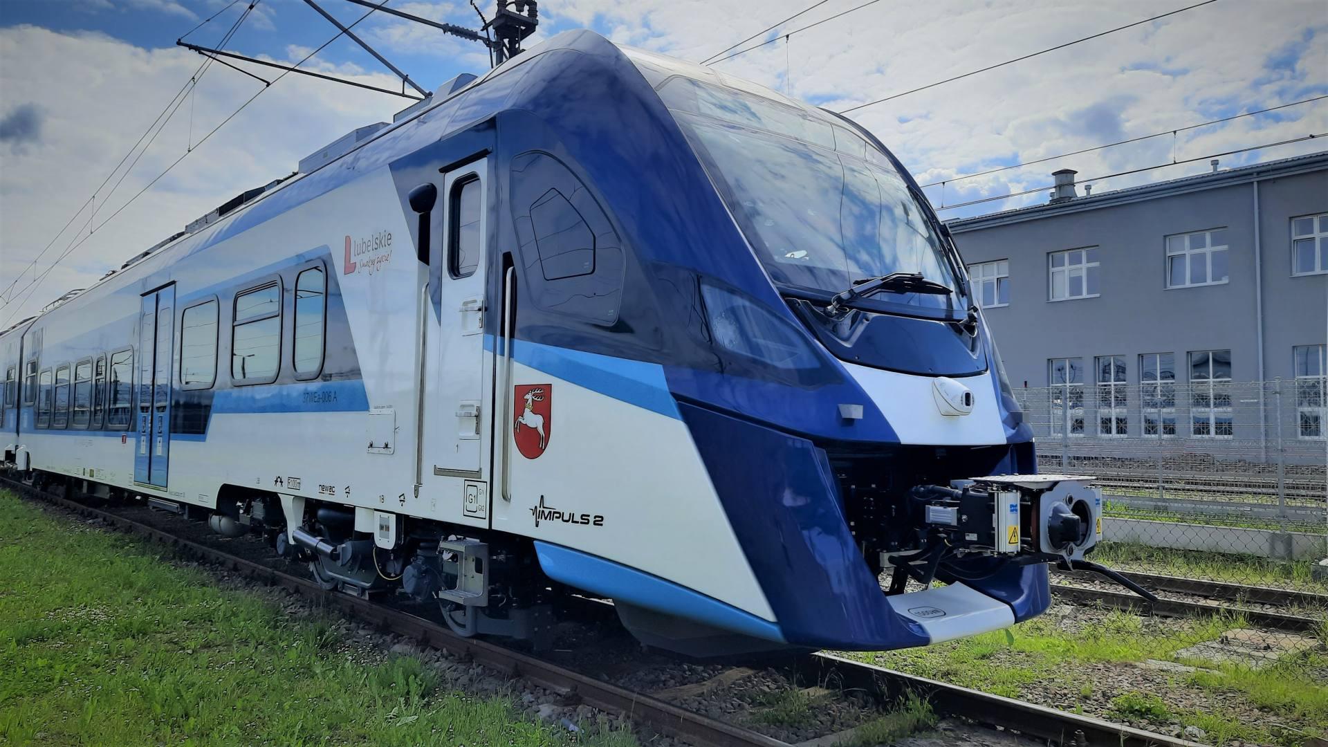 20210622 1 elektryczny zespol trakcyjny typ 37wea seria impuls 2 Nowe pociągi dla Lubelskiego