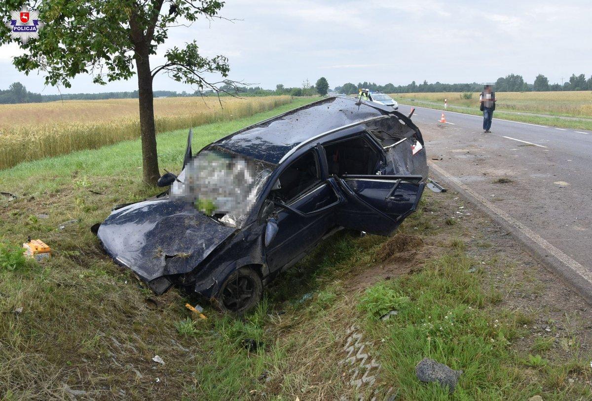 68 187588 Tragiczny wypadek w Kalinowicach. Nie żyje 61-letni pieszy