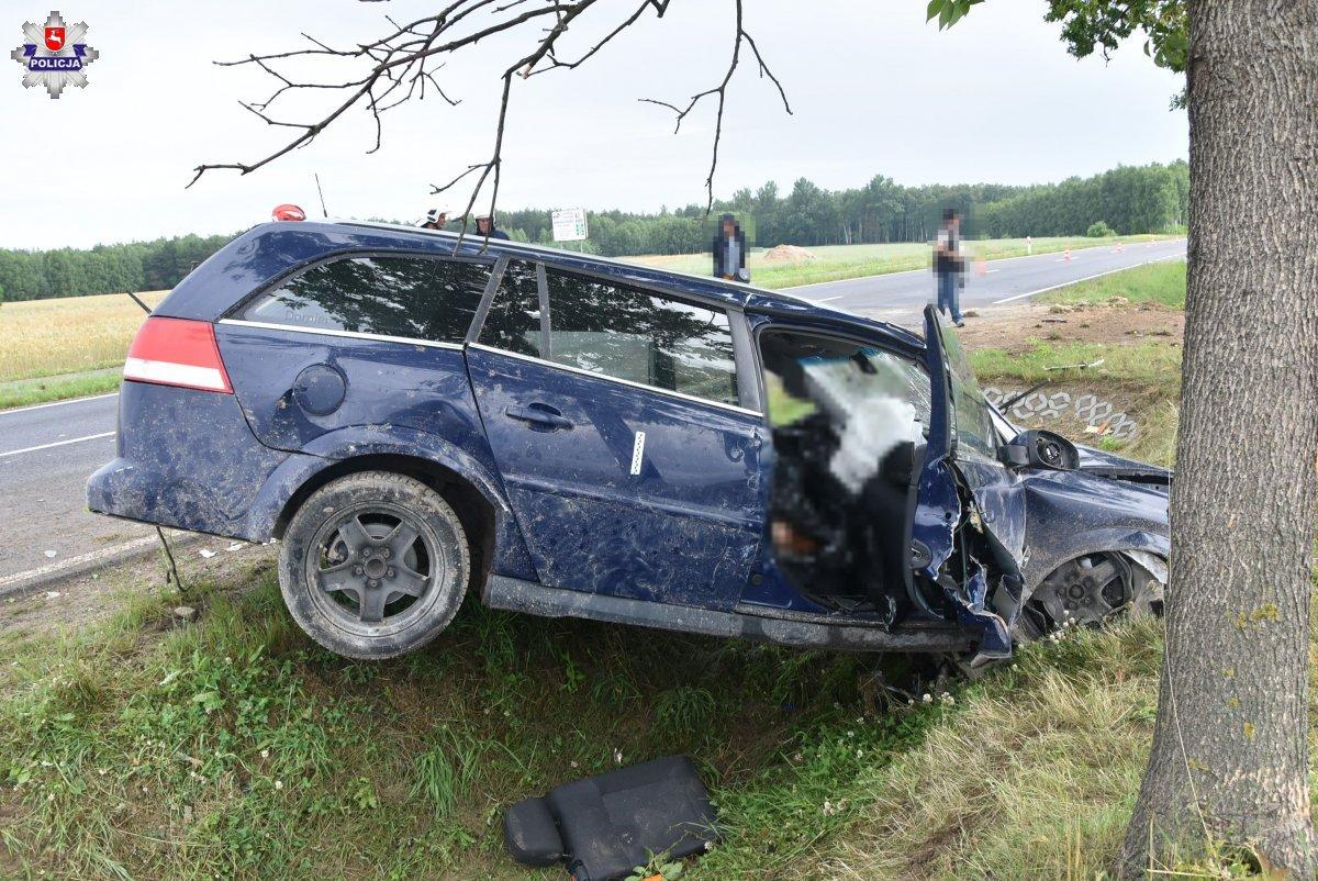 68 187589 Tragiczny wypadek w Kalinowicach. Nie żyje 61-letni pieszy