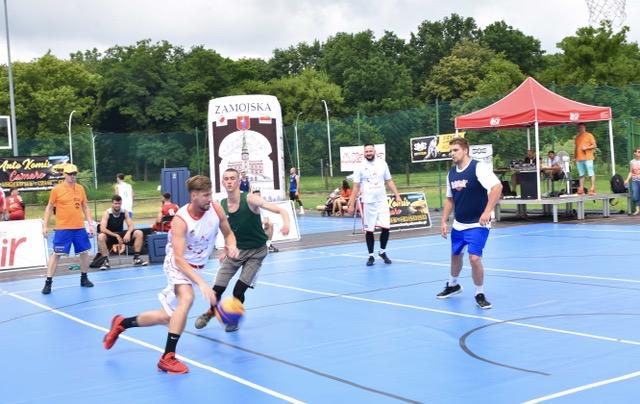 dsc 8434 Za nami turniej koszykówki 3×3 – Twierdza Zamość Cup. [WYNIKI, DUŻO ZDJĘĆ]