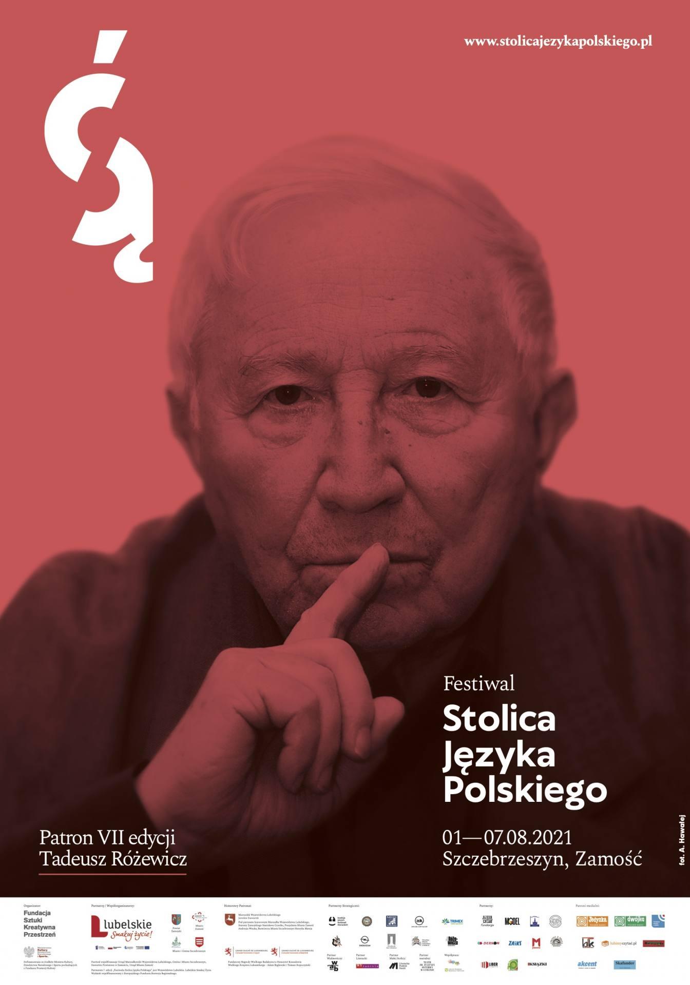 fsjp 2021 plakat Wnuczka Tadeusza Różewicza na festiwalu - Publikujemy szczegółowy program