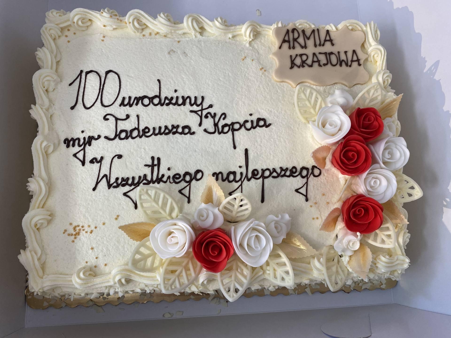 """img 4951 100-tne urodziny Majora Tadeusza Kopcia ps. """"Bratek"""" [ZDJĘCIA]"""