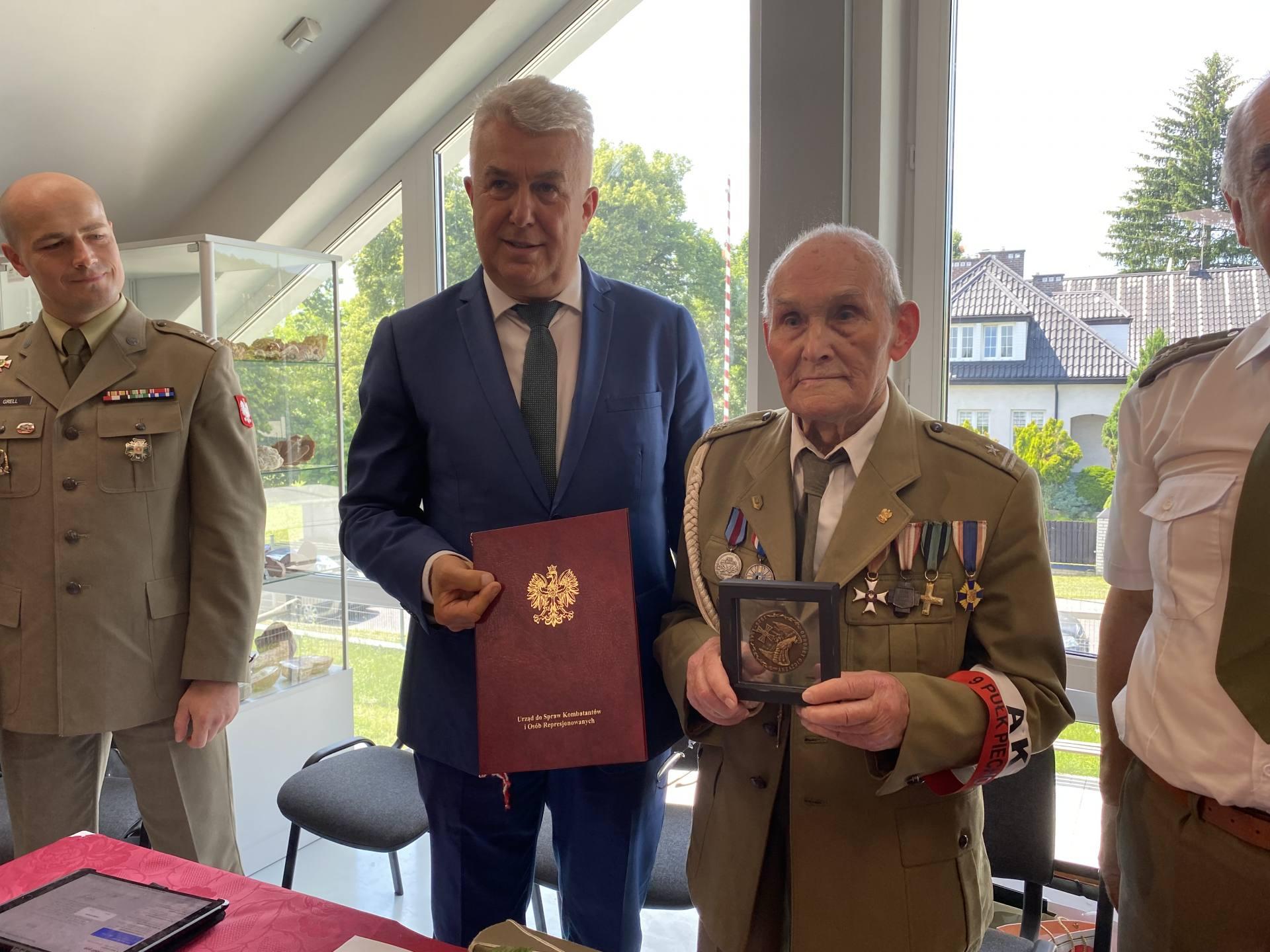"""img 5026 100-tne urodziny Majora Tadeusza Kopcia ps. """"Bratek"""" [ZDJĘCIA]"""