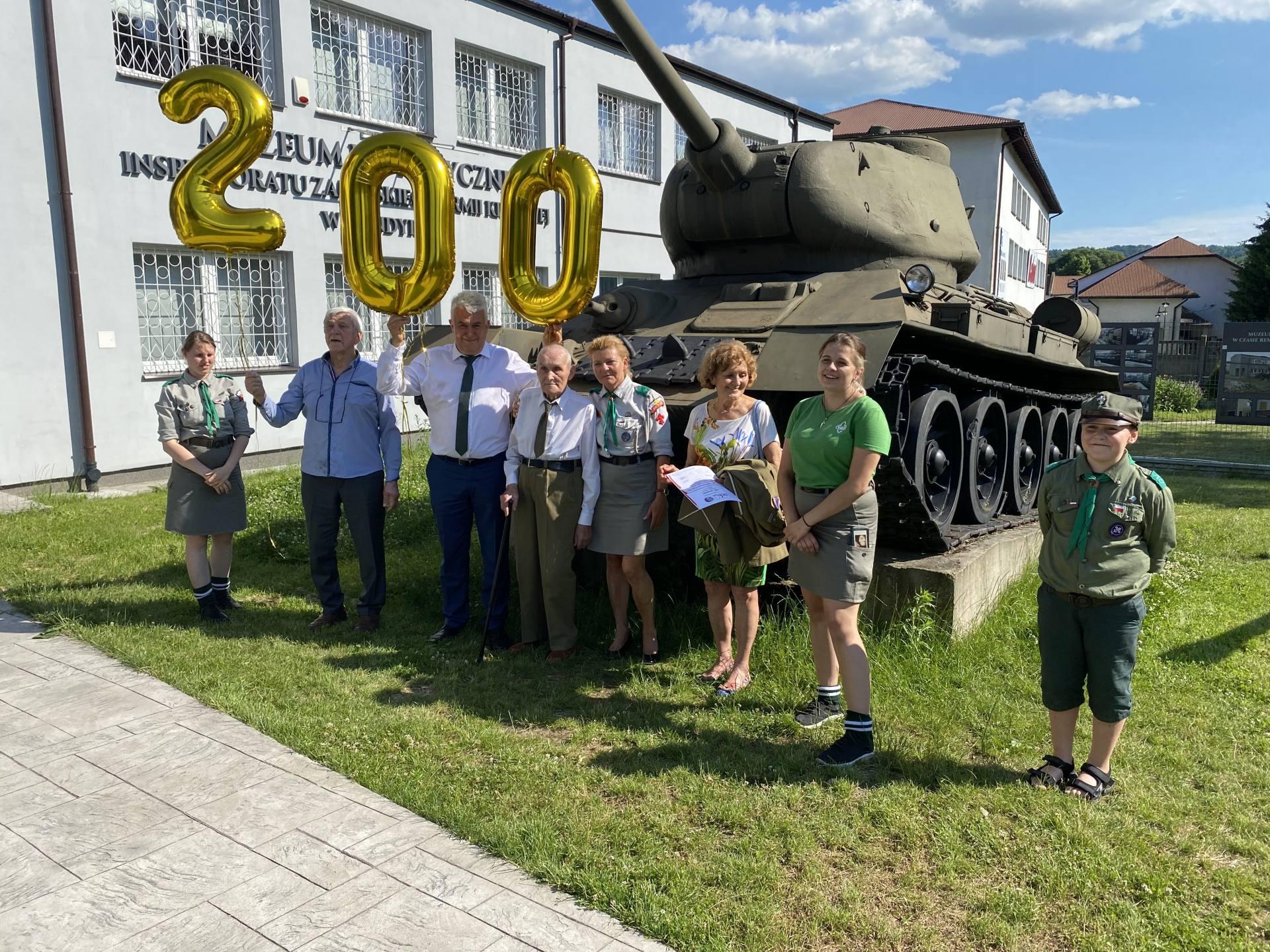 """img 5073 100-tne urodziny Majora Tadeusza Kopcia ps. """"Bratek"""" [ZDJĘCIA]"""