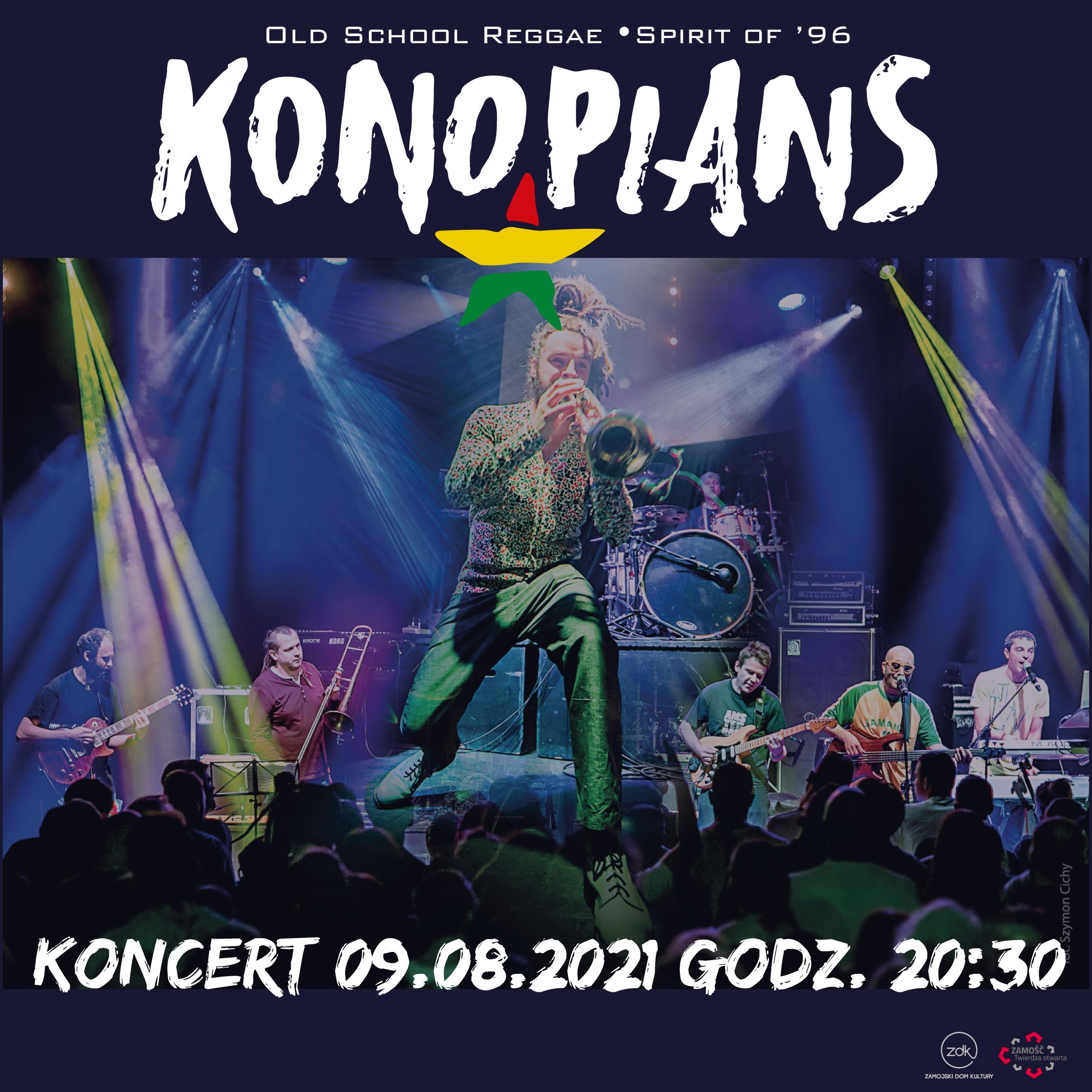 instagram post konopians Tour de Pologne i koncert zespołu KONOPIANS