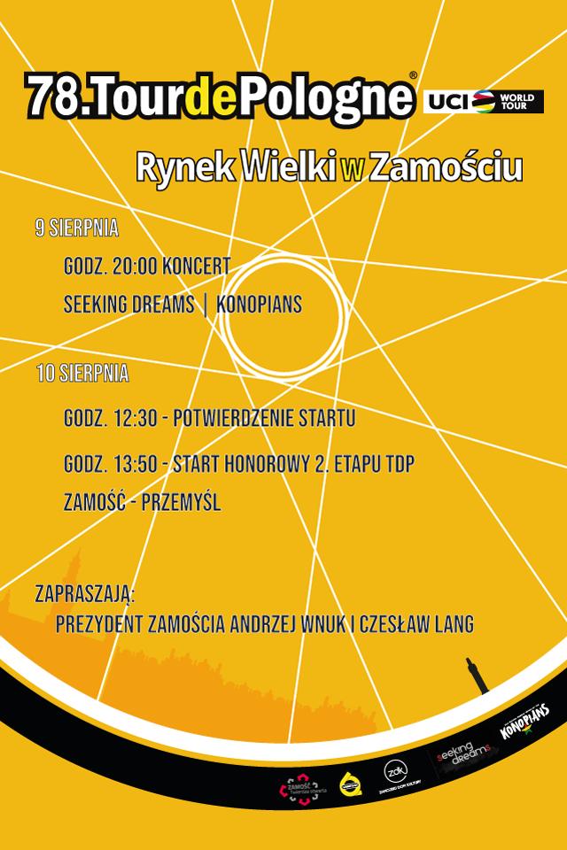 post instagram tdp Tour de Pologne i koncert zespołu KONOPIANS
