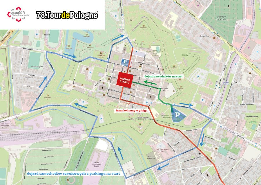12577b Tour de Pologne w Zamościu. Będą spore utrudnienia w ruchu!