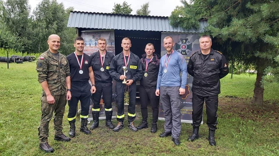 232275336 131027235880367 4299121106996498493 n Zamojscy strażacy spisali się na medal! [FOTORELACJA]
