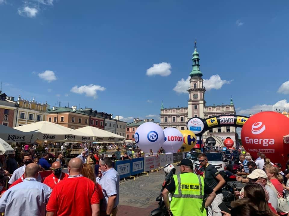 235700873 668208387909774 634685791957841350 n Joao Almeida zwycięzcą II etapu 78. Tour de Pologne z Zamościa do Przemyśla.