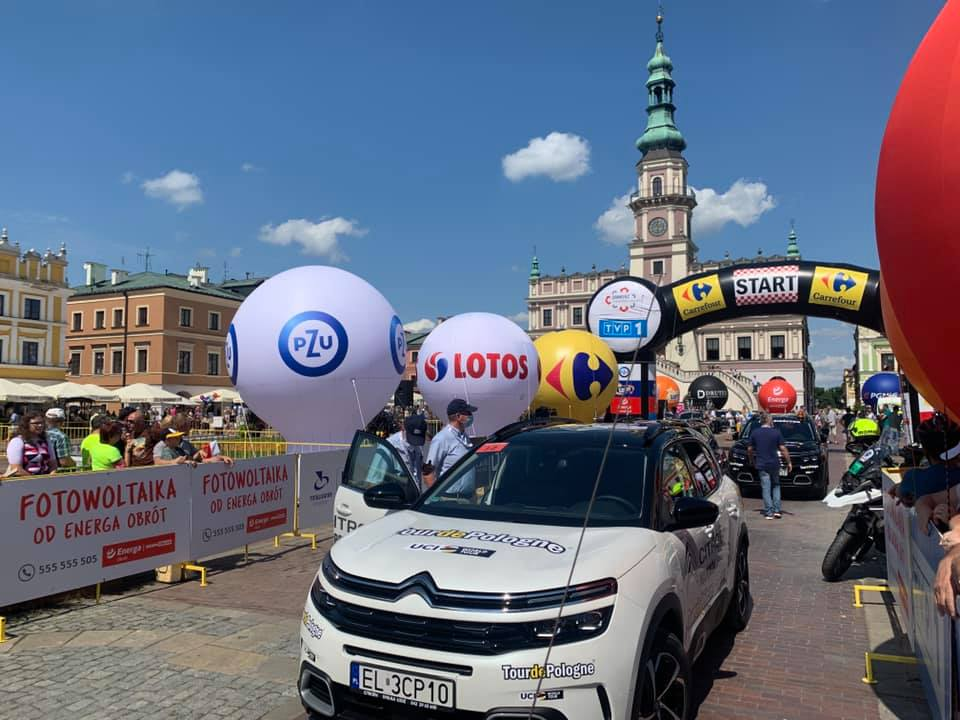 235833629 668208367909776 9099827393277512408 n Joao Almeida zwycięzcą II etapu 78. Tour de Pologne z Zamościa do Przemyśla.