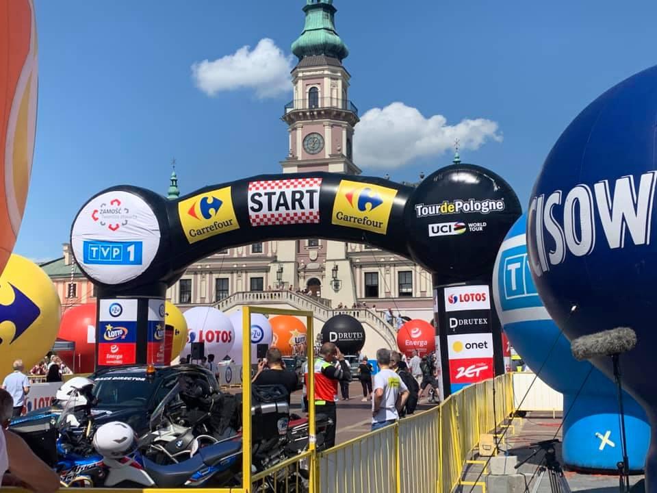 235843268 668208301243116 7232616405424307260 n Joao Almeida zwycięzcą II etapu 78. Tour de Pologne z Zamościa do Przemyśla.