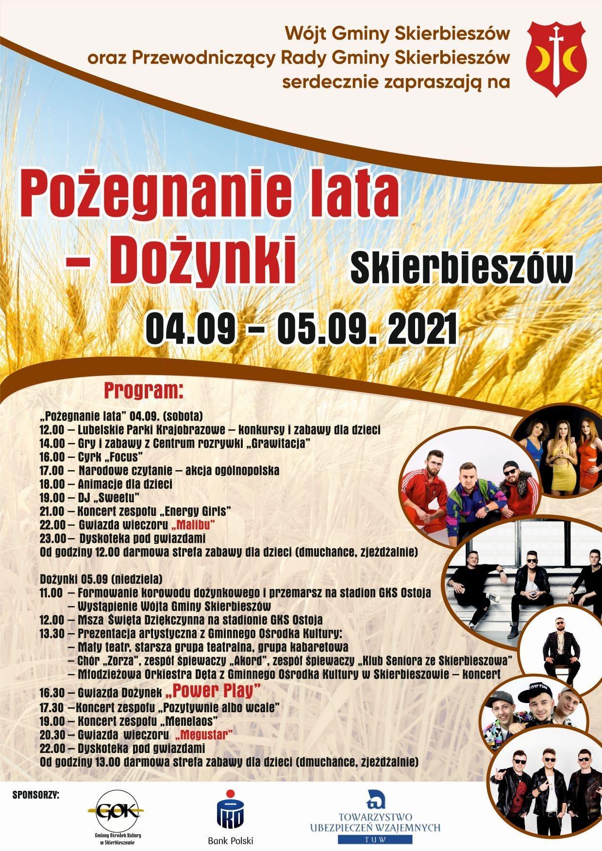 240876932 2014672182014284 7235935665798629078 n Dożynki gminne i pożegnanie lata. Dwudniowe święto w Skierbieszowie.