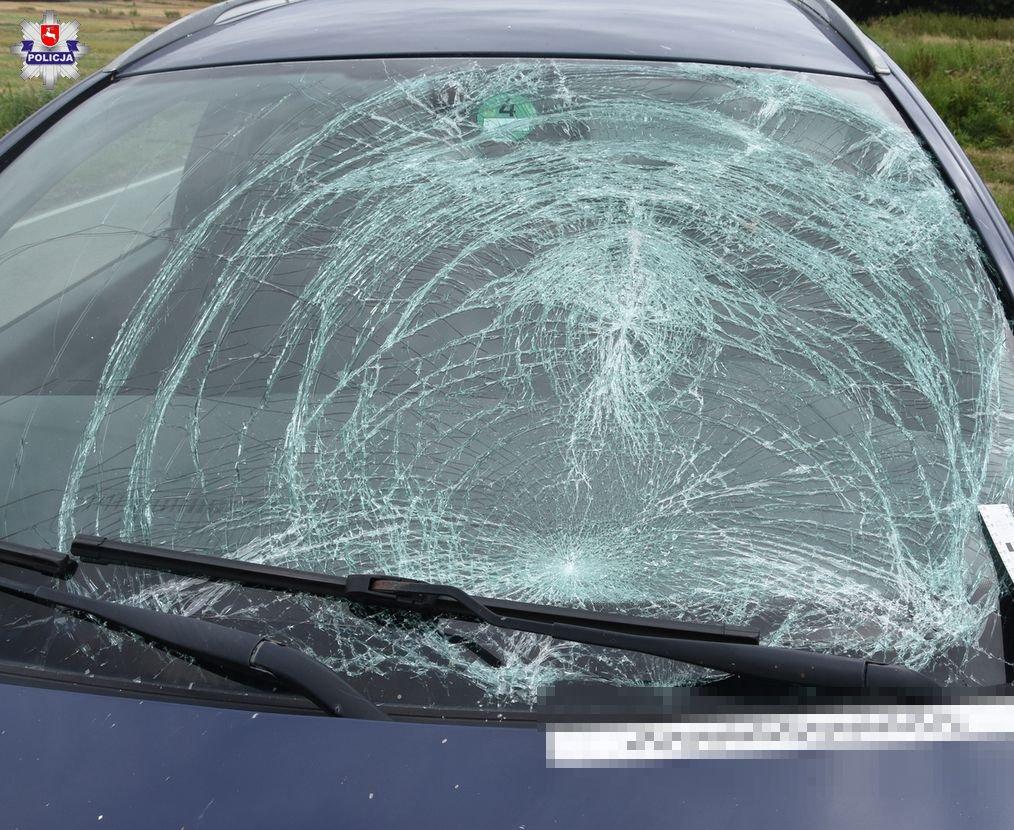 68 189935 Tragiczny wypadek. Śmiertelne potrącenie rowerzysty.