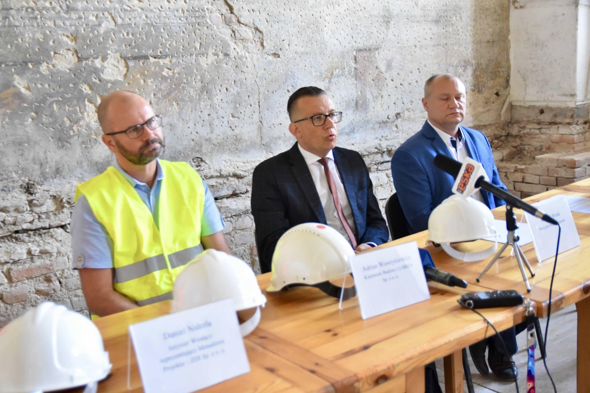 dsc 9920 ZAMOŚĆ: Wznowiono roboty budowlane i prace konserwatorskie w obiekcie Akademii Zamojskiej [ZDJĘCIA]