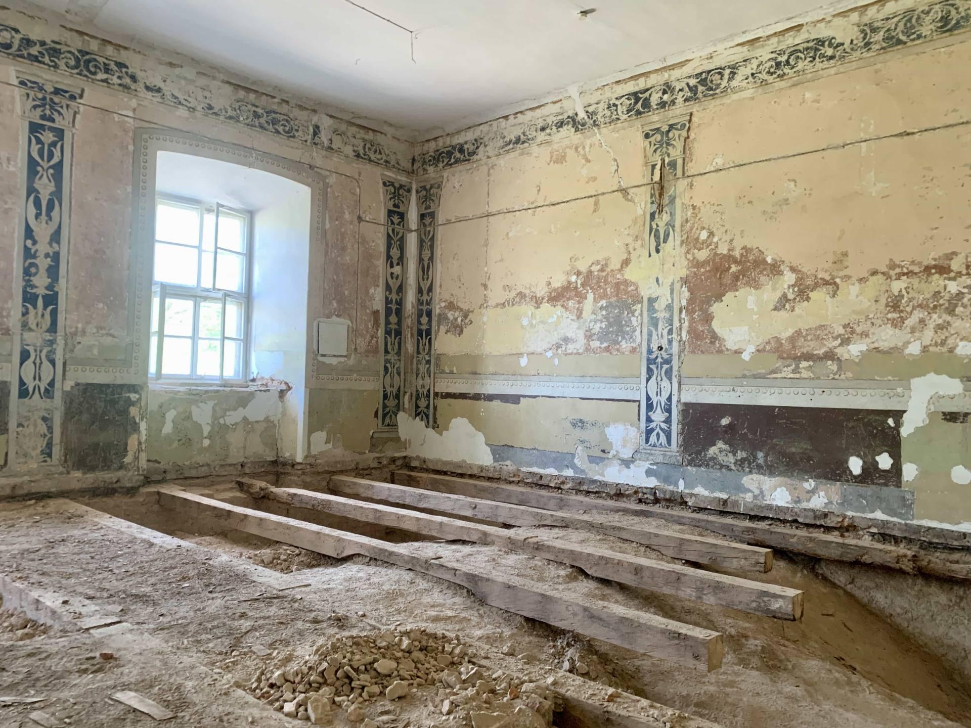 img 1809 ZAMOŚĆ: Wznowiono roboty budowlane i prace konserwatorskie w obiekcie Akademii Zamojskiej [ZDJĘCIA]