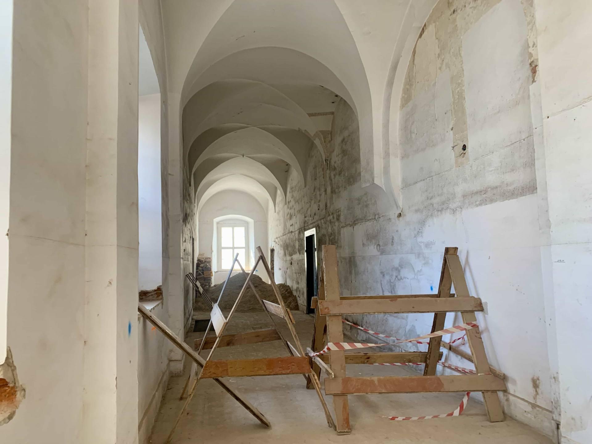 img 1818 ZAMOŚĆ: Wznowiono roboty budowlane i prace konserwatorskie w obiekcie Akademii Zamojskiej [ZDJĘCIA]