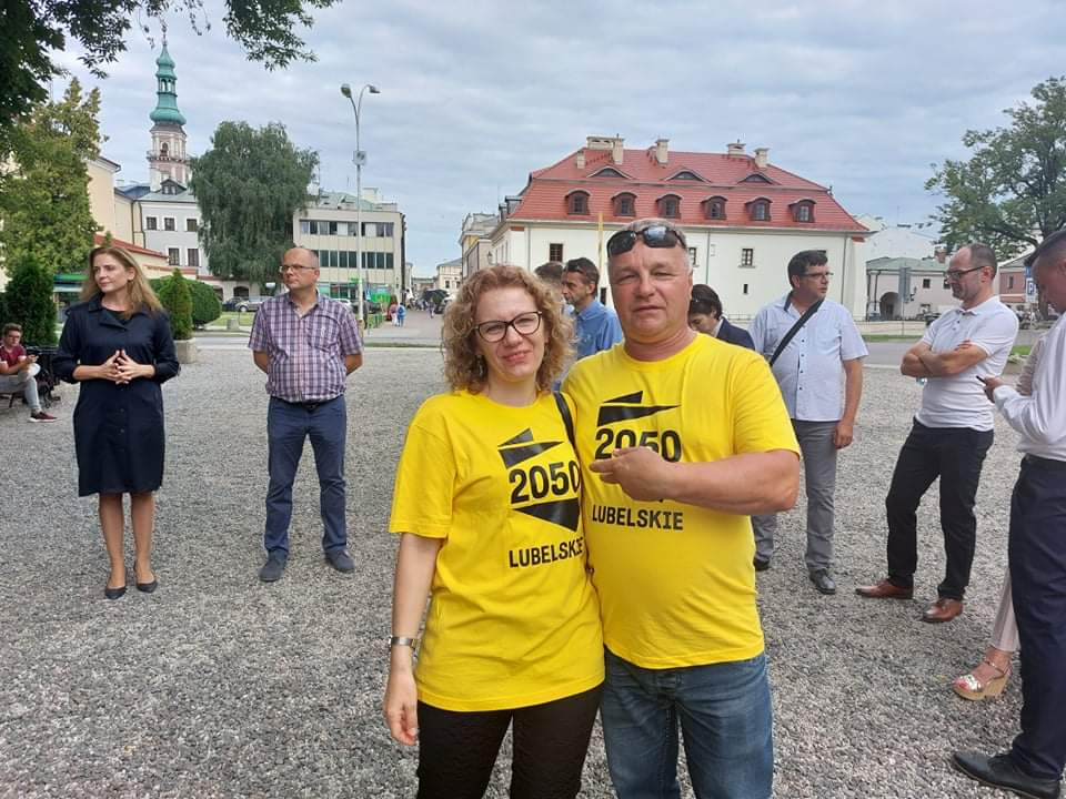 received 190219389710981 Liderzy i działacze Polski 2050 spotkali się w Zamościu. Rozmawiali m.in. o zamknięciu oddziału pediatrycznego w naszym mieście