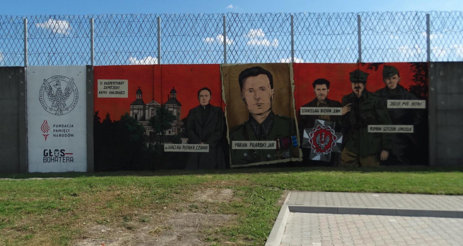 zrzut ekranu 2021 08 18 o 114424 ZAMOŚĆ: Kolejny patriotyczny mural odsłonięty