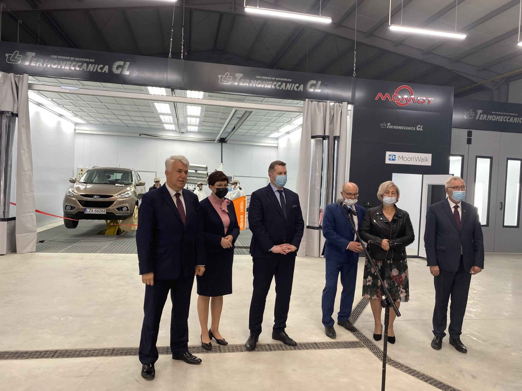 03 Wizyta ministra Przemysława Czarnka w Branżowej Szkole w Szczebrzeszynie