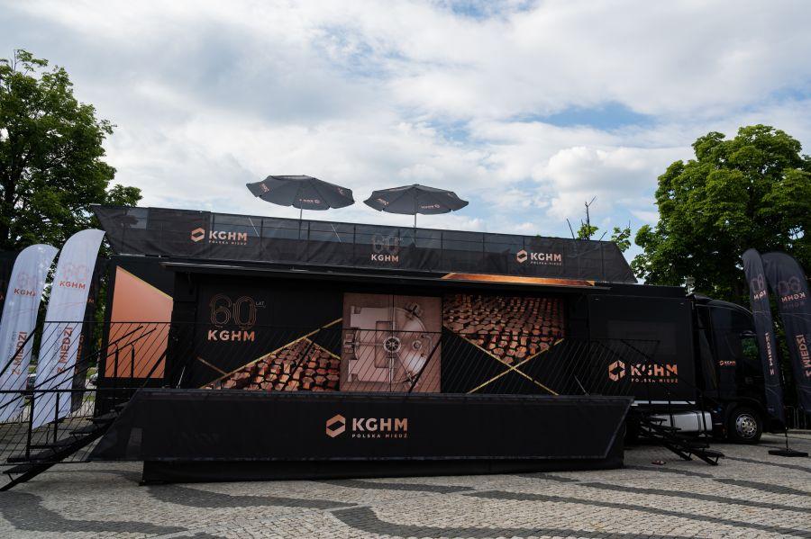 """12771b """"Przyszłość jest z miedzi"""" - mobilna wystawa w Zamościu"""