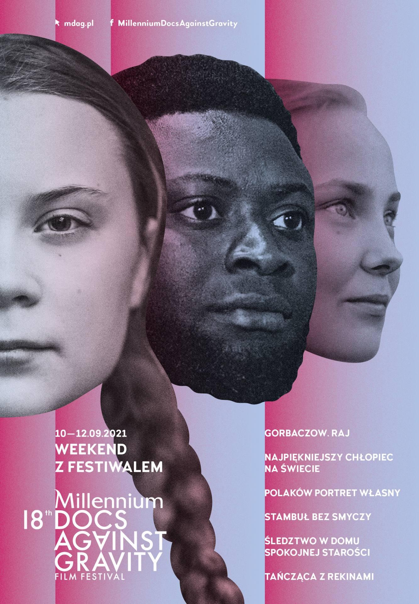 18mdag weekend z festiwalem plakat net 2 1 ZAMOŚĆ: Weekend z Festiwalem Millennium Docs Against Gravity